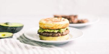 PCOS Recipe Sausage McMuffin